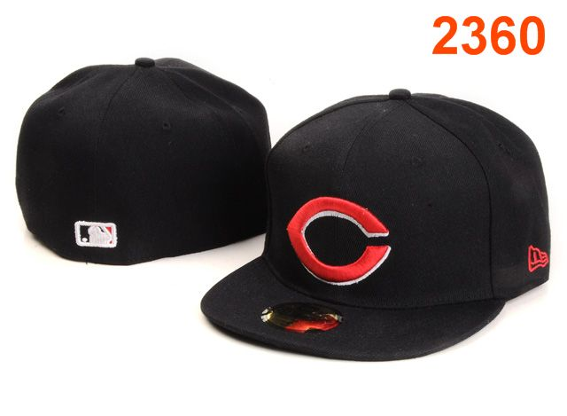 Cincinnati Reds MLB Fitted Hat PT46