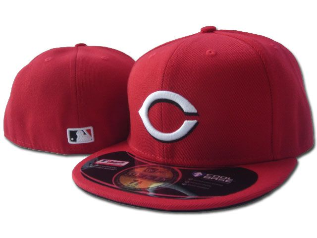 Cincinnati Reds MLB Fitted Hat sf2