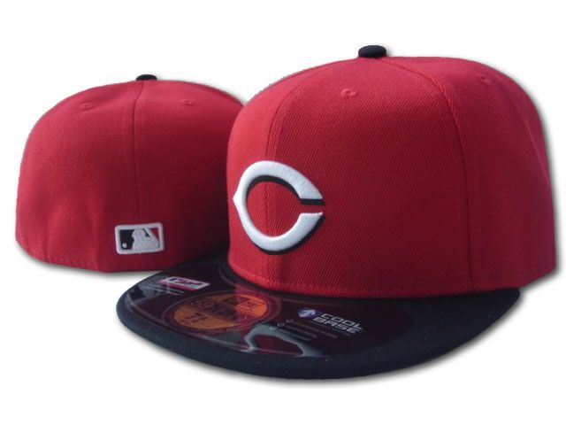 Cincinnati Reds MLB Fitted Hat sf3