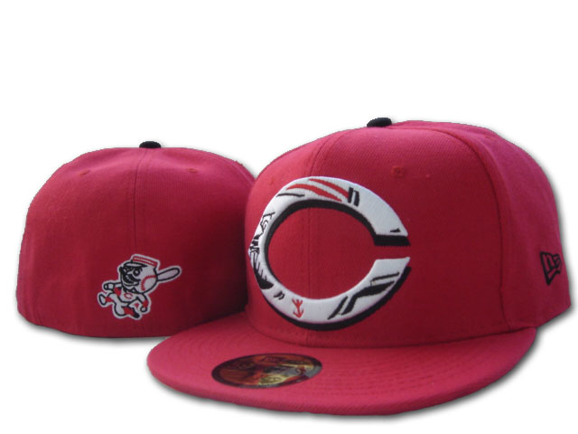 Cincinnati Reds MLB Fitted Hat sf4