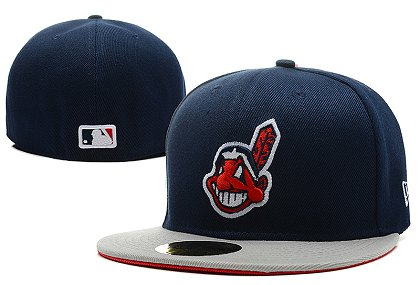 Cleveland Indians LX Fitted Hat 140802 0110