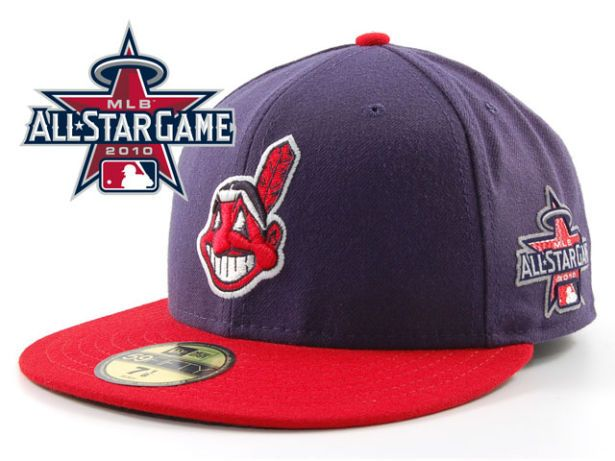 Cleveland Indians 2010 MLB All Star Fitted Hat Sf08