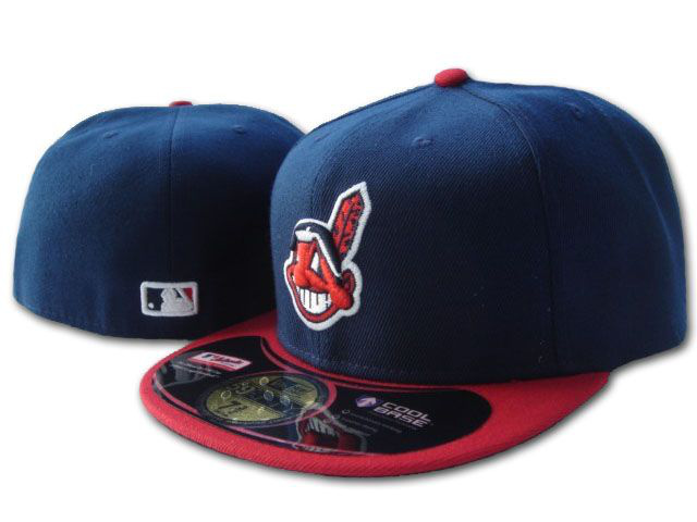 Cleveland Indians MLB Fitted Hat SF