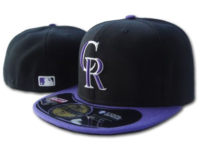 Colorado Rockies MLB Fitted Hat SF1