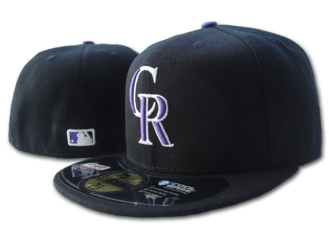 Colorado Rockies MLB Fitted Hat SF2