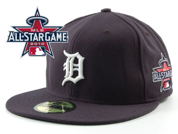 Detroit Tigers 2010 MLB All Star Fitted Hat Sf10
