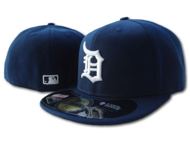 Detroit Tigers MLB Fitted Hat sf
