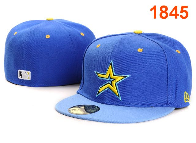 Houston Astros MLB Fitted Hat PT01