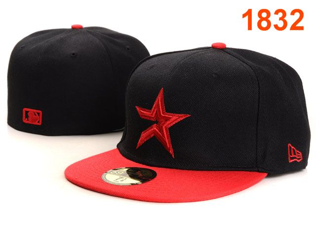Houston Astros MLB Fitted Hat PT02