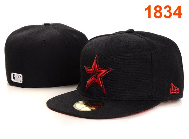 Houston Astros MLB Fitted Hat PT04