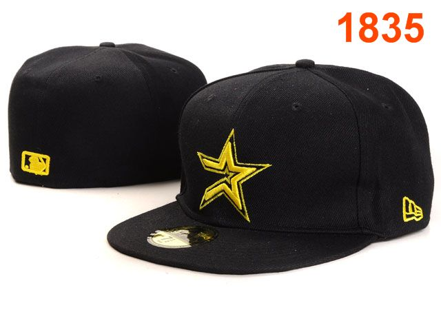 Houston Astros MLB Fitted Hat PT05