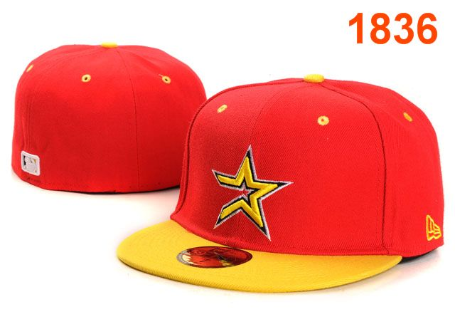 Houston Astros MLB Fitted Hat PT06