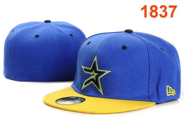 Houston Astros MLB Fitted Hat PT07