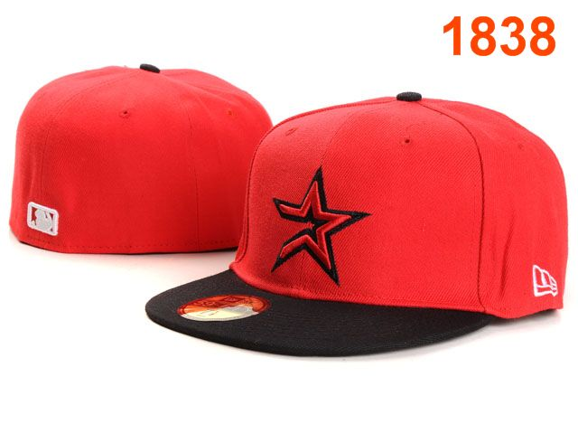 Houston Astros MLB Fitted Hat PT08