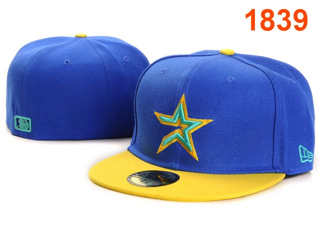 Houston Astros MLB Fitted Hat PT09