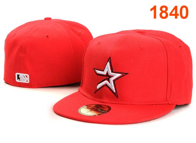 Houston Astros MLB Fitted Hat PT10