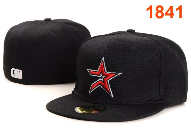 Houston Astros MLB Fitted Hat PT11