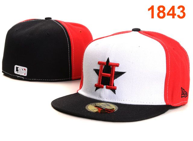 Houston Astros MLB Fitted Hat PT13