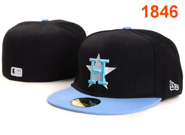 Houston Astros MLB Fitted Hat PT15