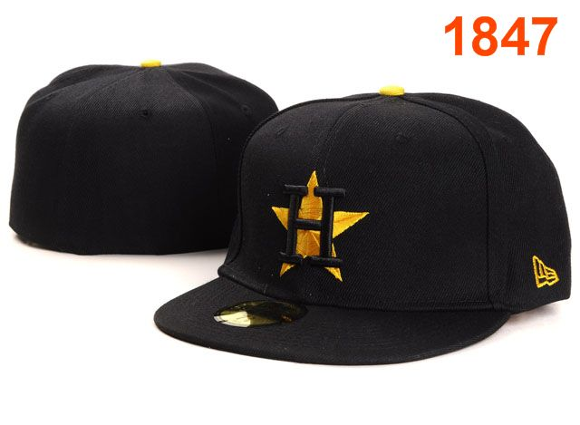 Houston Astros MLB Fitted Hat PT16