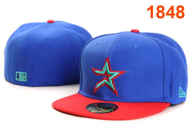 Houston Astros MLB Fitted Hat PT17