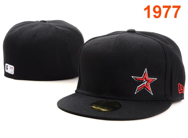 Houston Astros MLB Fitted Hat PT19