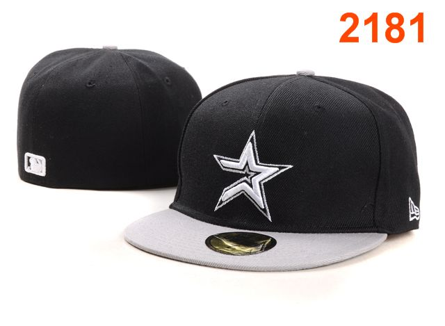 Houston Astros MLB Fitted Hat PT22