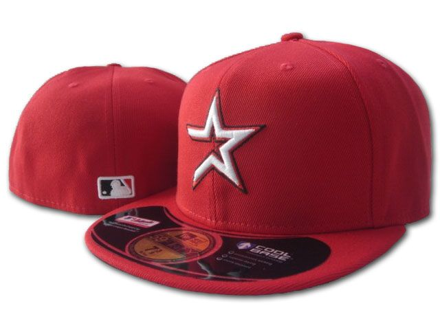 Houston Astros MLB Fitted Hat sf1