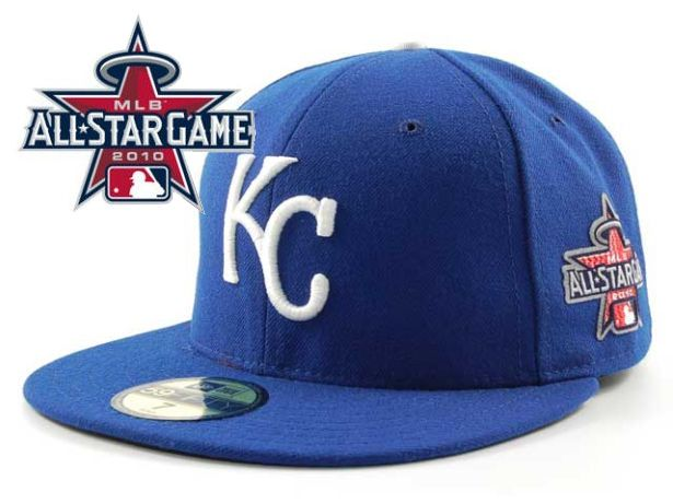 Kansas City Royals 2010 MLB All Star Fitted Hat Sf12