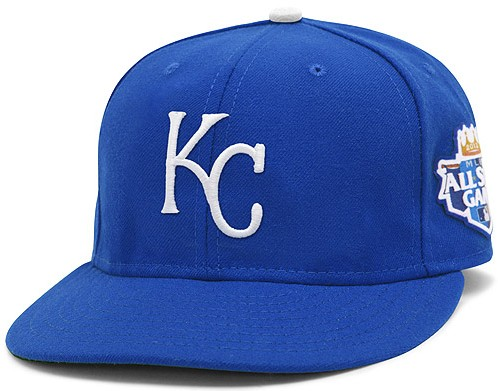 Kansas City Royals 2012 MLB All Star Fitted Hat SF06