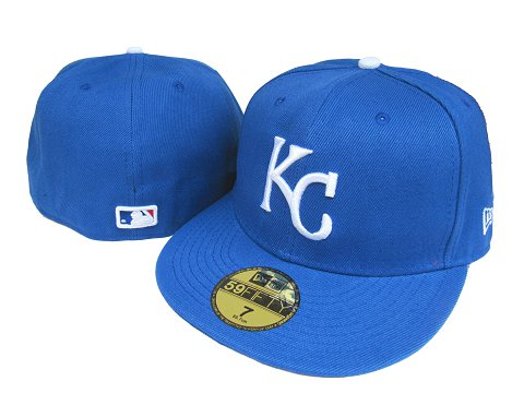 Kansas City Royals MLB Fitted Hat LX06