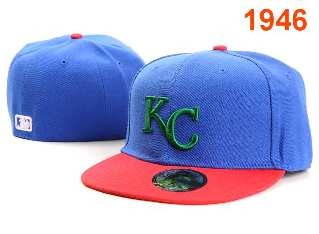 Kansas City Royals MLB Fitted Hat PT1