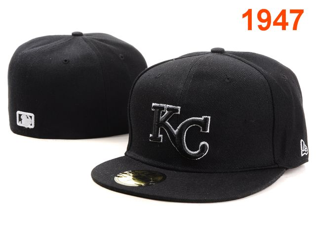 Kansas City Royals MLB Fitted Hat PT2