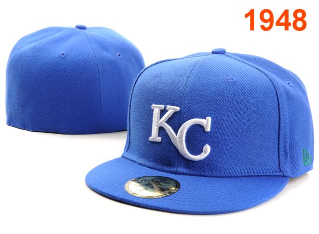 Kansas City Royals MLB Fitted Hat PT3