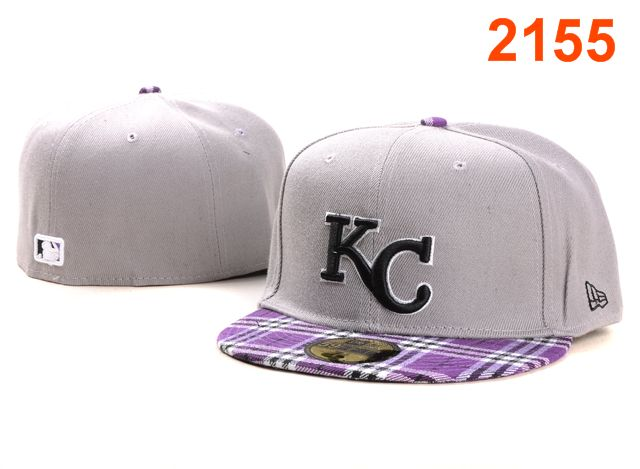 Kansas City Royals MLB Fitted Hat PT4