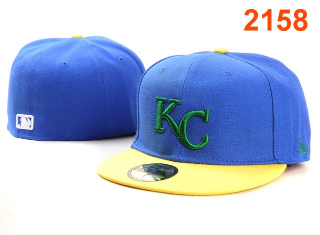 Kansas City Royals MLB Fitted Hat PT5