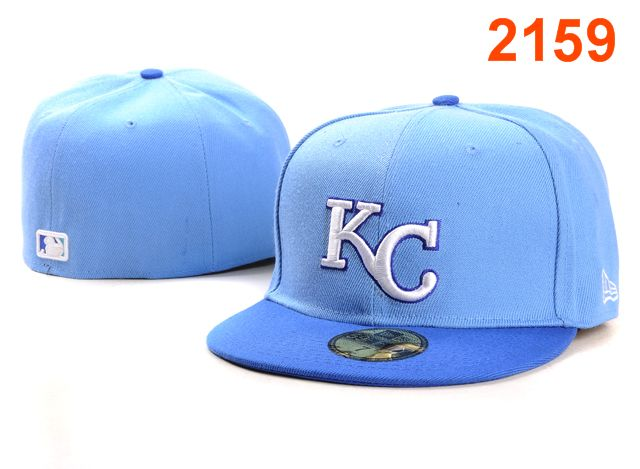 Kansas City Royals MLB Fitted Hat PT6