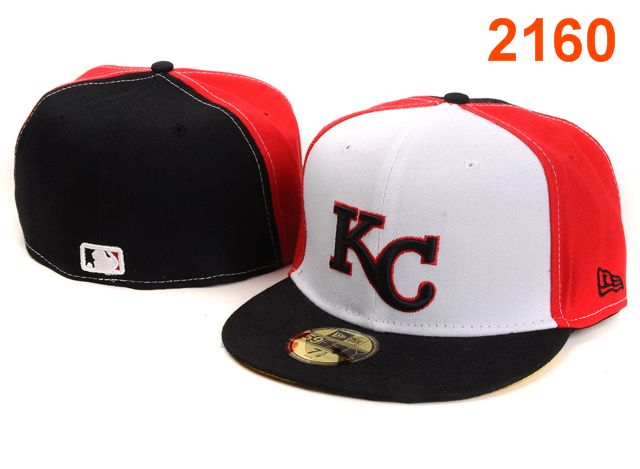Kansas City Royals MLB Fitted Hat PT7