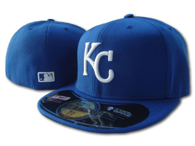 Kansas City Royals MLB Fitted Hat SF1
