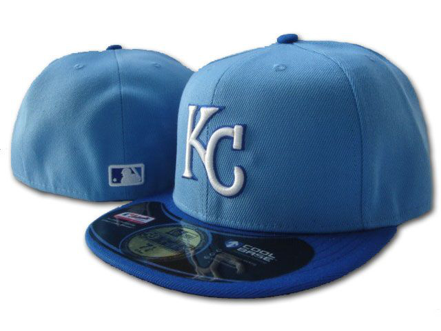 Kansas City Royals MLB Fitted Hat SF2