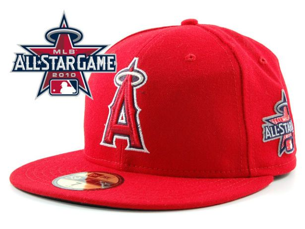 Los Angeles Angels 2010 MLB All Star Fitted Hat Sf13