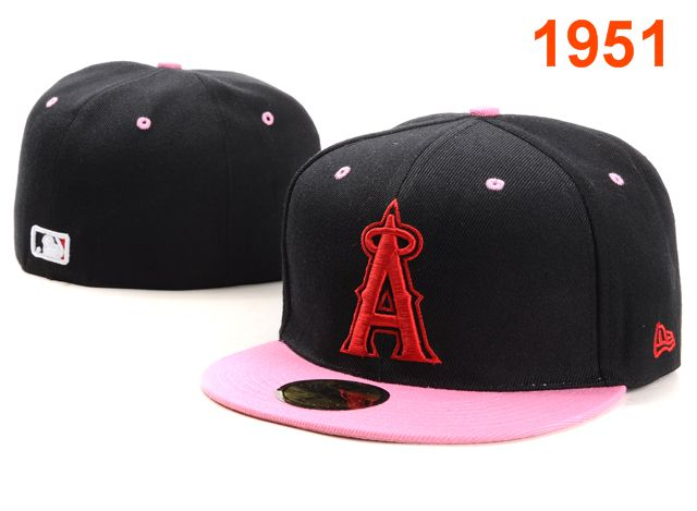 Los Angeles Angels MLB Fitted Hat PT1