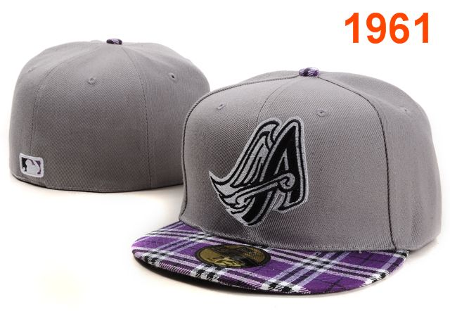 Los Angeles Angels MLB Fitted Hat PT6