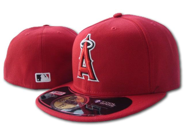 Los Angeles Angels MLB Fitted Hat SF1