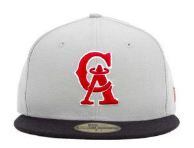Los Angeles Angels MLB Fitted Hat SF3