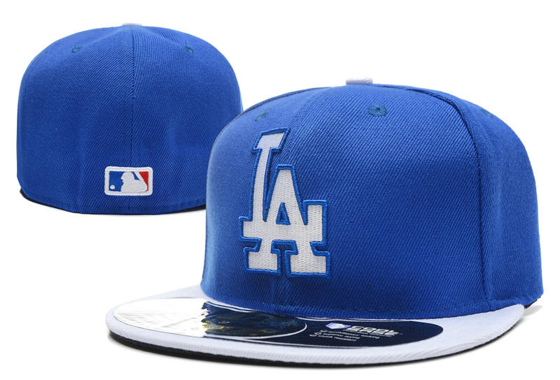Los Angeles Dodgers Blue Fitted Hat LX 0701