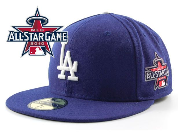 Los Angeles Dodgers 2010 MLB All Star Fitted Hat Sf14