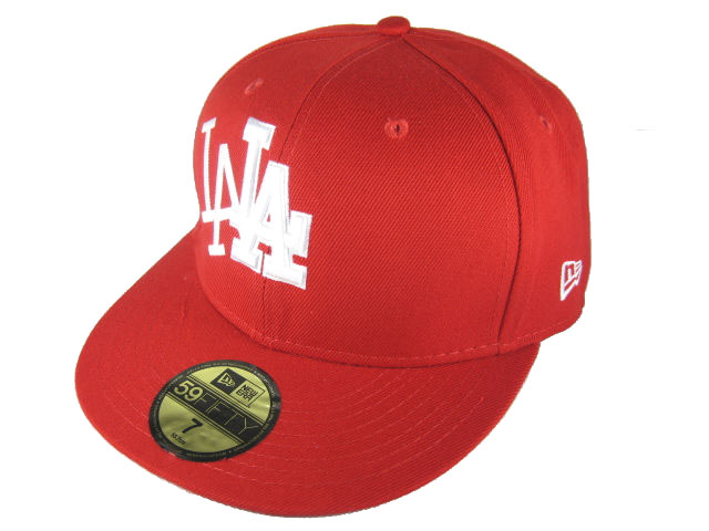 Los Angeles Dodgers MLB Fitted Hat LX03