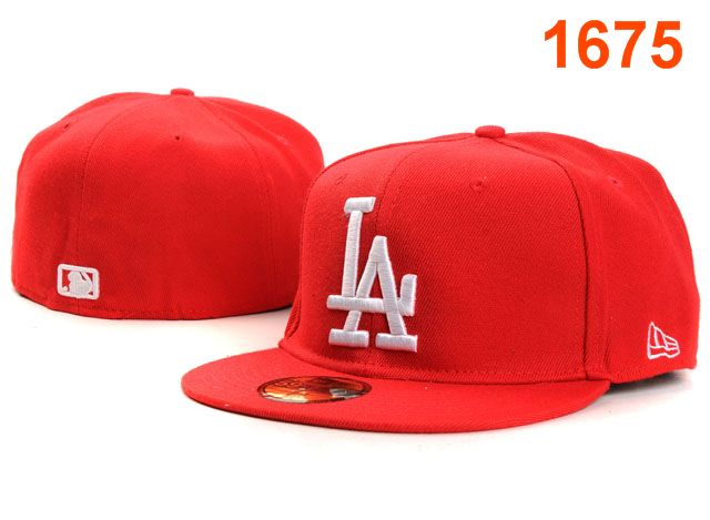Los Angeles Dodgers MLB Fitted Hat PT07