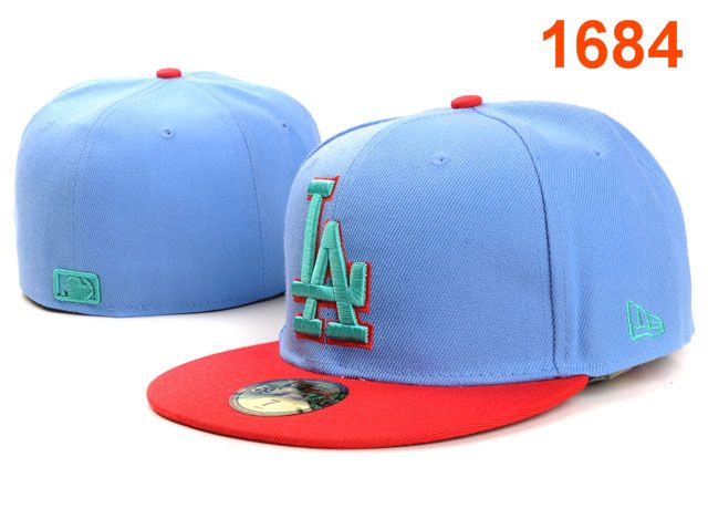 Los Angeles Dodgers MLB Fitted Hat PT12